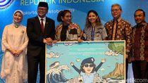 Karangan Bunga untuk Edhy Prabowo Hiasi KKP, Termasuk dari Susi