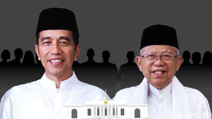 Foto: Fokus Kabinet Jokowi-Maruf