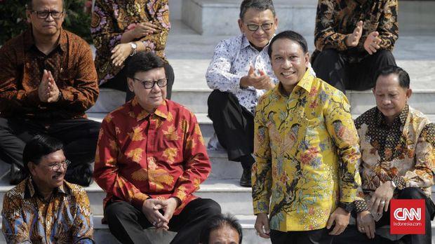 Menpora Zainudin Amali mendapat pesan khusus benahi sepak bola dari Presiden Jokowi.