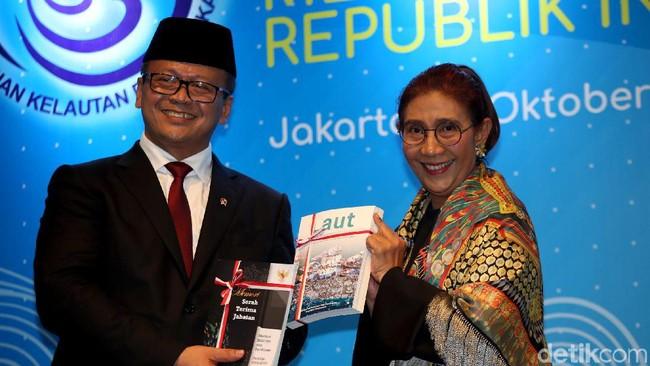 Edhy Prabowo dan Susi Pudjiastuti. Foto: Agung Pambudhy