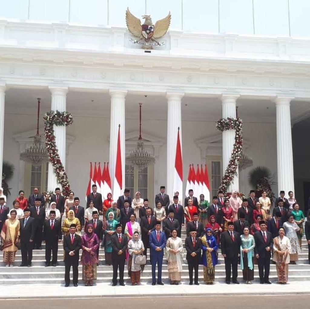Pesan Puan Maharani buat Menteri Kabinet Jokowi