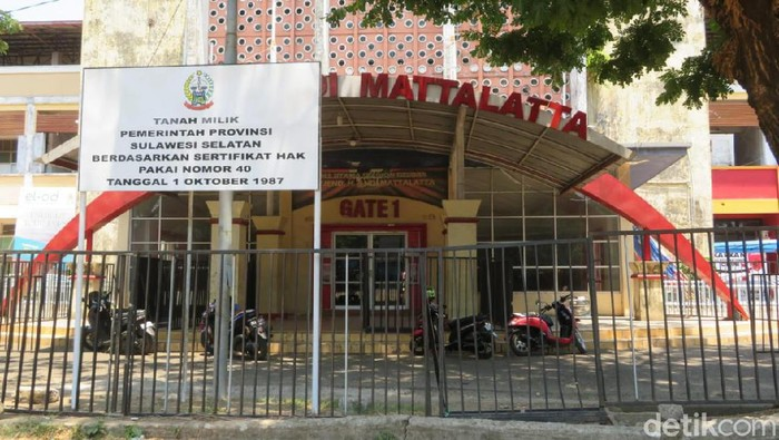 Stadion Mattoanging Sulsel (Noval Dhwinuari Antony-detikcom)