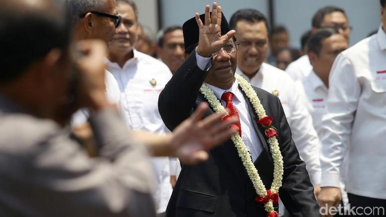 Mahfud Md Pimpin Rapat Internal, Lalu Sidang Kabinet Perdana di Istana