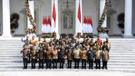 Charta Politika: 73,1% Responden Setuju Jokowi Reshuffle Menteri