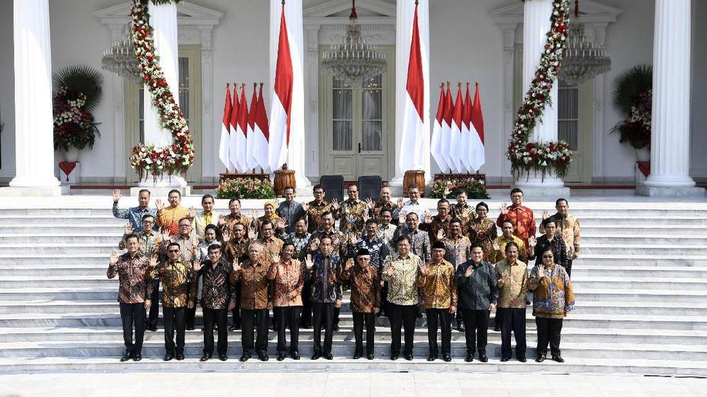 10 Menteri Ini Paling Diharap Di-reshuffle, Yasonna-Tarawan Teratas