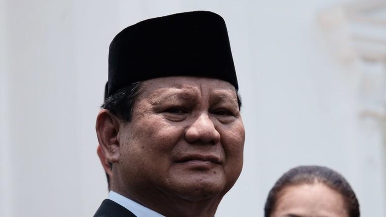 Jadi Menhan, Prabowo Punya Harta Rp 1,9 Triliun