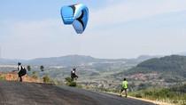 87 Peserta Kejuaraan Parayalang Cross Country Mulai Unjuk Gigi