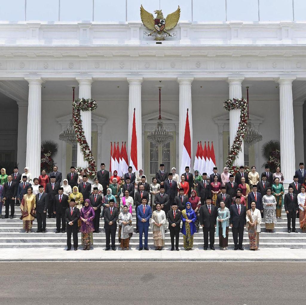 Mengintip Gaji Menteri Baru, Besar Mana Sama DPR?