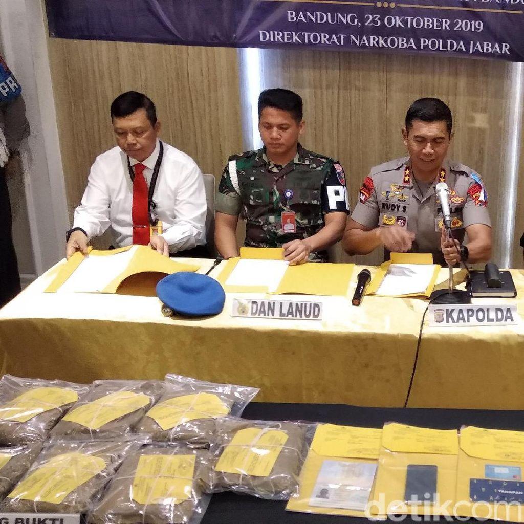 Sabu 12 Kg Selundupan Pemuda di Bandung Hendak Dibawa ke Filipina