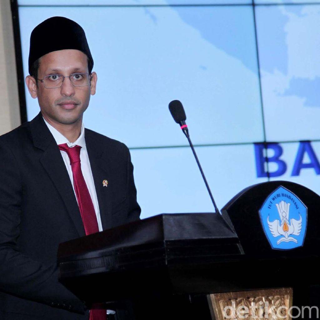 Pidato Buang Naskah ala Menteri Nadiem