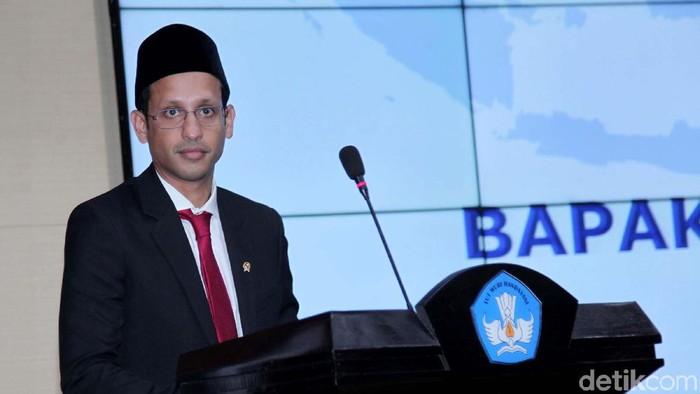 Mendikbud Nadiem Makarim (Foto: Lamhot Aritonang/detikcom)