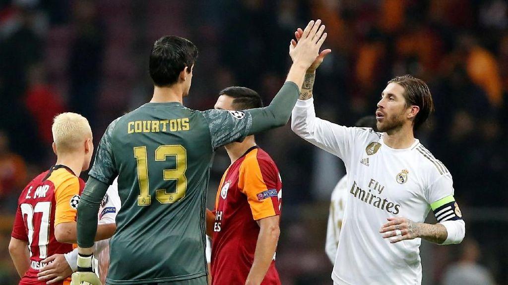 Tampil Apik saat Hadapi Galatasaray, Courtois Bungkam Para Pengkritik
