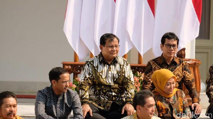 Menteri Pertahanan Prabowo Subianto (Andhika Prasetia/detikcom)