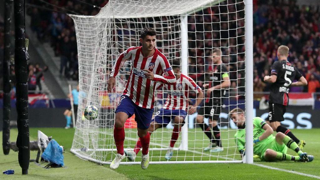 Atletico Vs Leverkusen: Gol Tunggal Morata Menangkan Rojiblancos