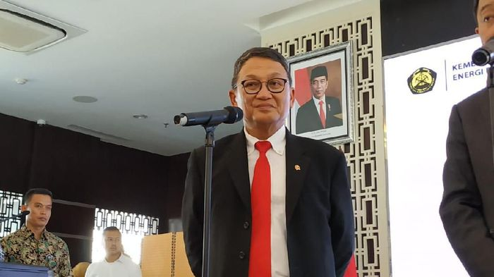 Menteri ESDM Arifin Tasrif. Foto: Achmad Dwi Afriyadi/detikFinance