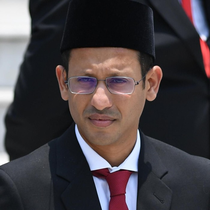 Foto: Mendikbud Nadiem Makarim (Antara Foto)