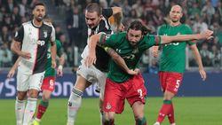 Juventus Vs Lokomotiv Moscow : Bianconeri Tertinggal 0-1 di Babak Pertama