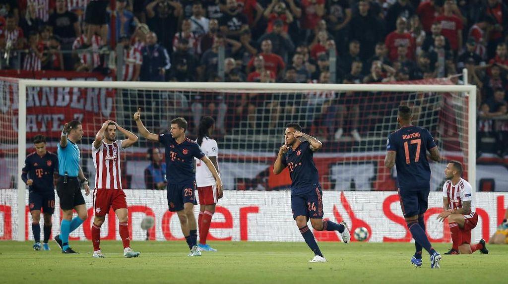 Olympiakos Vs Bayern Munich: Die Roten Menang Tipis 3-2