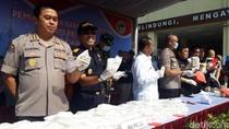 11 Kg Sabu Diduga Kasus Jaringan Madura Dimusnahkan