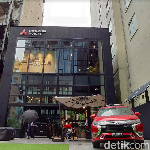 MI-Garden Ginza, Showroom Mitsubishi Bernuansa Cafe yang Cozy Banget