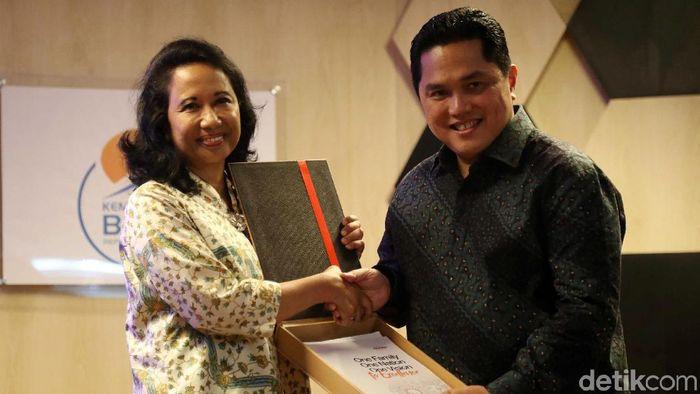 Beda Erick Thohir dan Rini Soemarno Benahi BUMN, Siapa Lebih Oke?/Foto: Pradita Utama