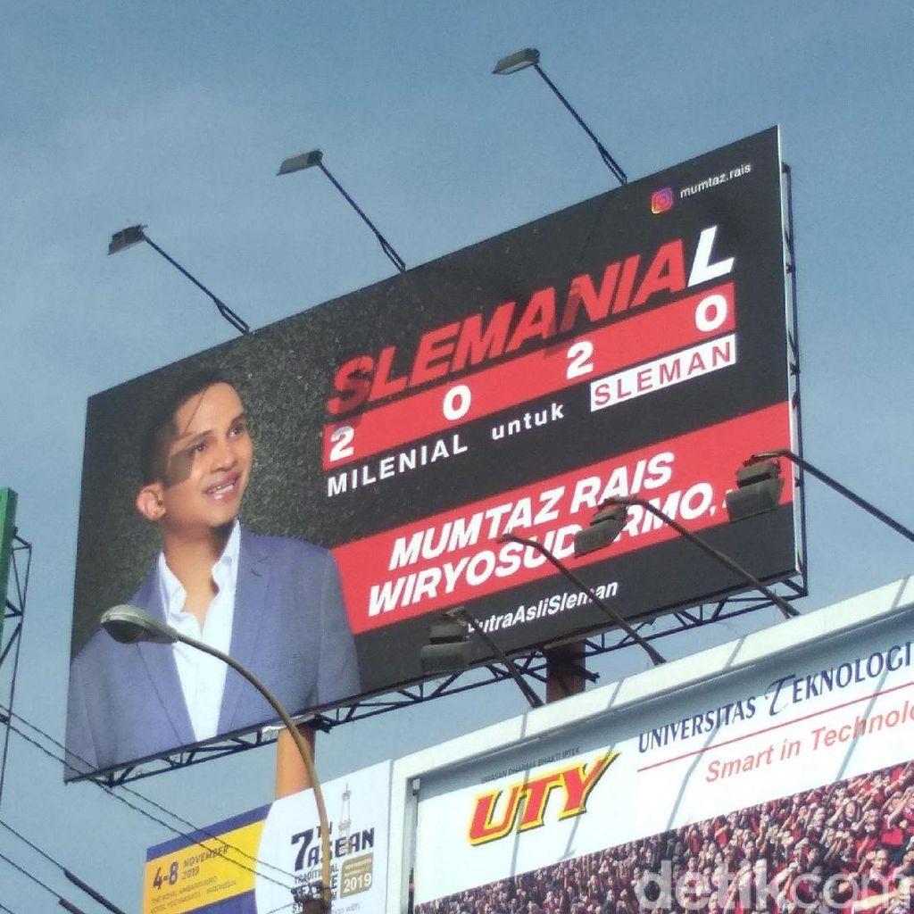 Muncul Baliho Pencalonan, Anak Amien Rais Maju Pilbup Sleman?