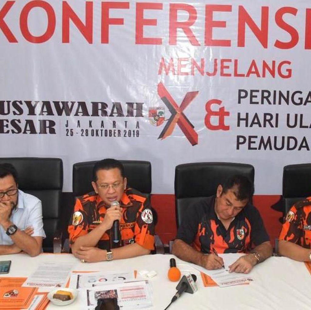 Jokowi Akan Buka Mubes X Pemuda Pancasila