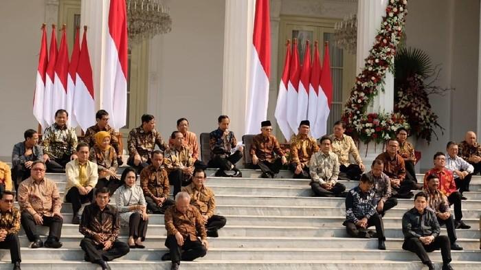 Kabinet Indonesia Maju. Foto: (Andhika Prasetia/detikcom).