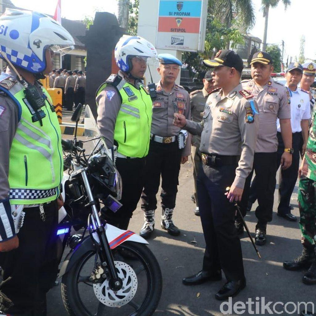 Hari Pertama Operasi Zebra, 6.686 Kendaraan di Jakarta Ditilang