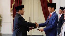 Ini Pernyataan Pertama Prabowo sebagai Menhan