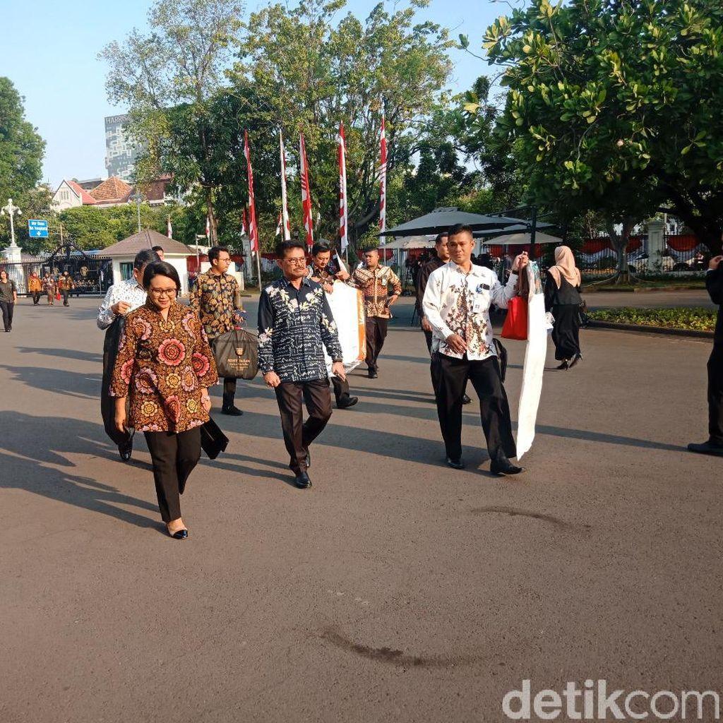 Ikut ke Istana, Retno Marsudi Kembali Jadi Menlu