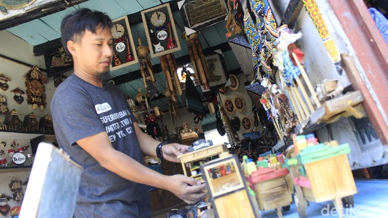 Vakum 3 Bulan, Pedagang di TWA Tangkuban Perahu Mulai Beraktivitas