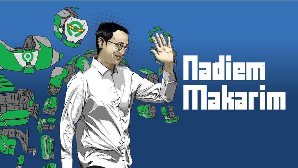 Kiprah Nadiem Makarim: Lepas Gojek Jadi Jendral Muda Jokowi