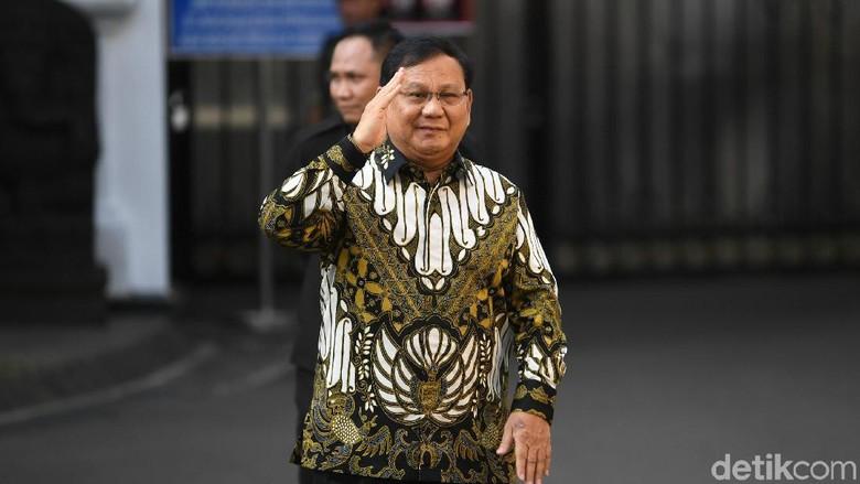 Menhan Prabowo Terima Kunjungan Dubes Inggris-Rusia Hari Ini