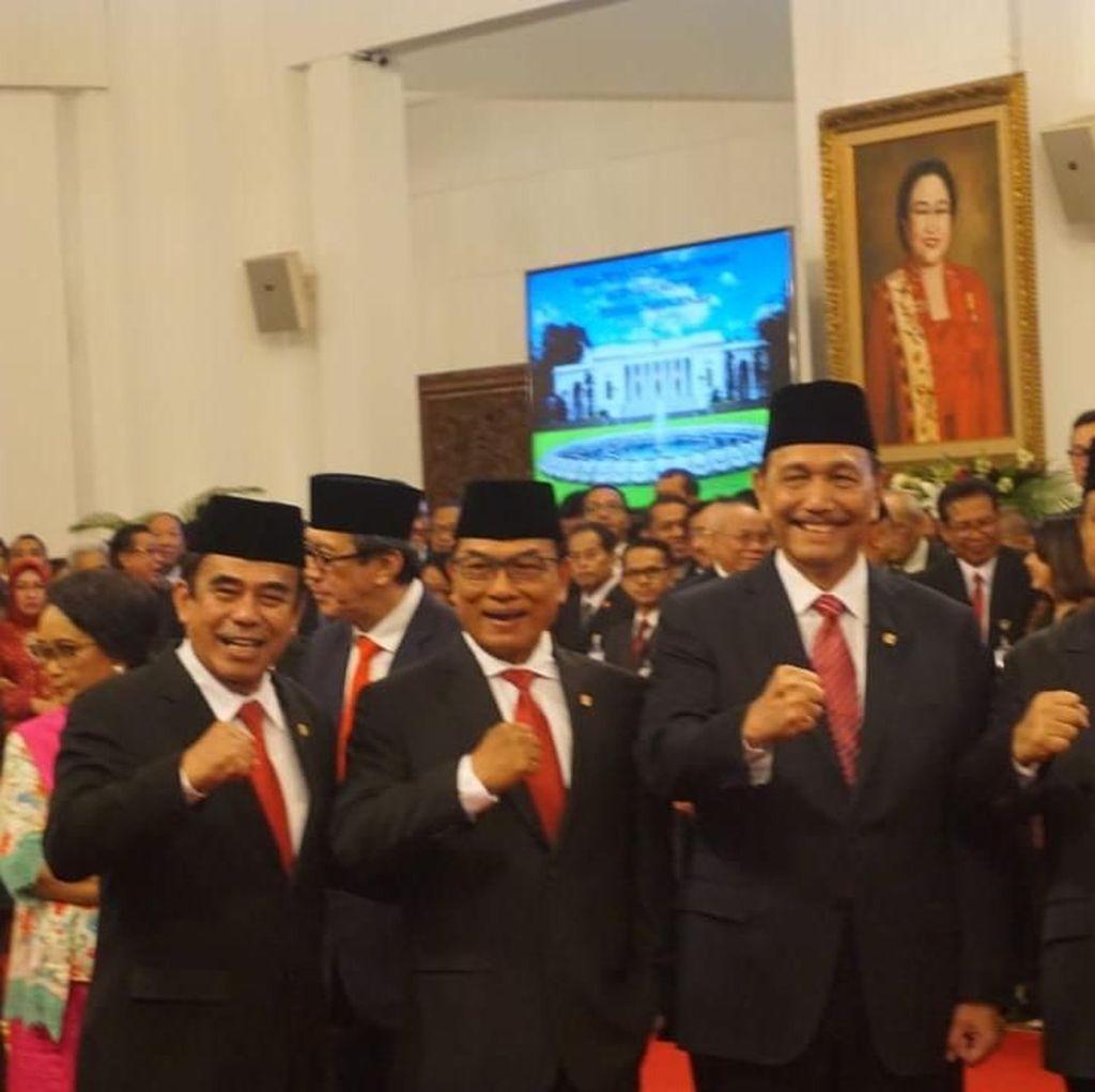 Jenderal di Kabinet Jokowi: Urusi Agama hingga Investasi