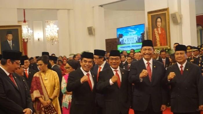 Jenderal-jenderal di Kabinet Jokowi (Kanavino/detikcom)