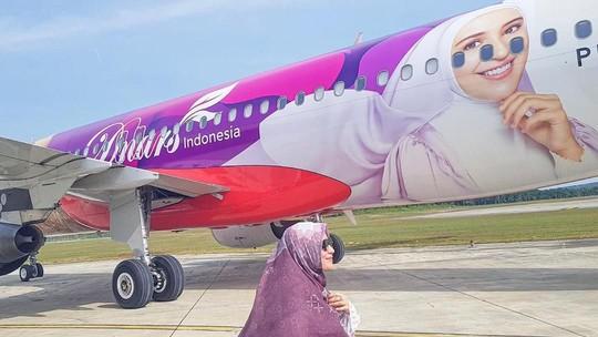 Senyum Shireen Sungkar saat Ditanya Soal Wajahnya di Pesawat