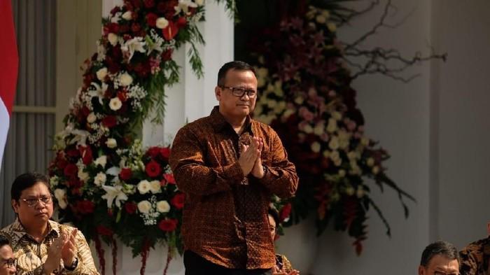 Jokowi kenalkan jajaran kabinet, prabowo subianto, nadiem, edhy prabowo, syahrul yasin limpo, tito karnavian
