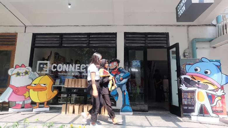 Connectoon, Ruang bagi Pencinta Pop Culture Dibuka di M Bloc Space