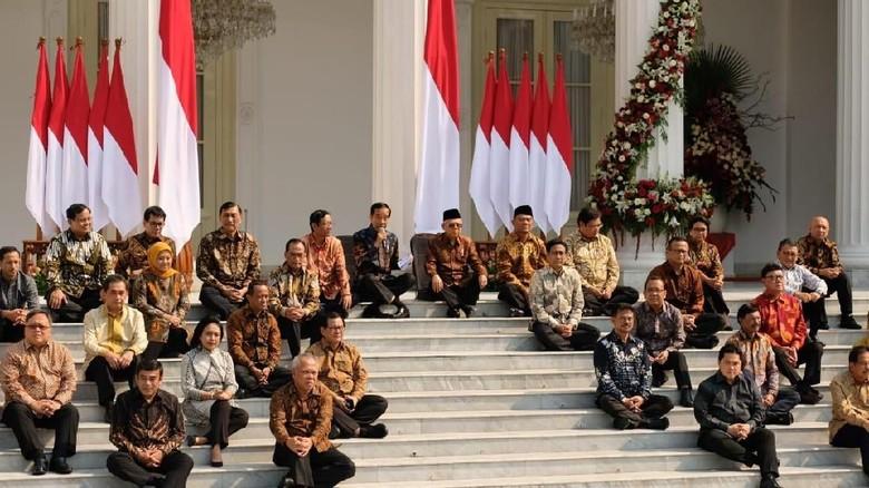 Ini Susunan Lengkap Kabinet Indonesia Maju Jokowi-Maruf
