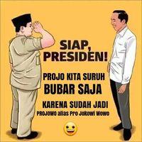 Projo Pamit Gegara Pro Jokowi-Prabowo