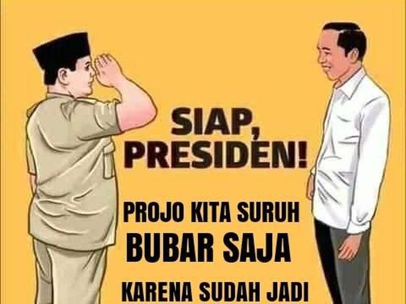 Jokowi-Prabowo Berkoalisi, Projo Undur Diri