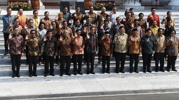 Live Report: Pengumuman Kabinet Jokowi Jilid II