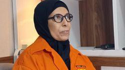 Emak Perakit Bom Bola Karet Penggagalan Pelantikan Jokowi Dibui 8,5 Bulan