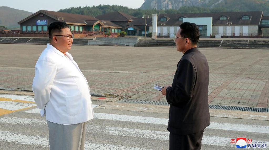 Kim Jong-Un Janji Akan Hancurkan Resor Wisata Korsel di Gunung Korut