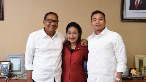 Potret Menteri Bintang Puspayoga Bersama Suaminya Eks Menkop UKM