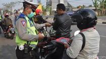 Baru Sehari Operasi Zebra, 1.137 Kendaraan di Banten Kena Tilang