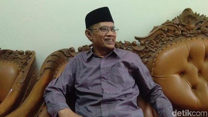 Ketum PP Muhammadiyah, Haedar Nashir. (Usman Hadi/detikcom)