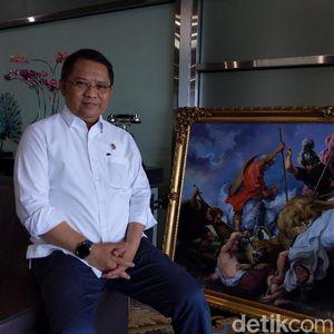 Luhut Sebut Jokowi Tunjuk Rudiantara Jadi Direktur Utama PLN