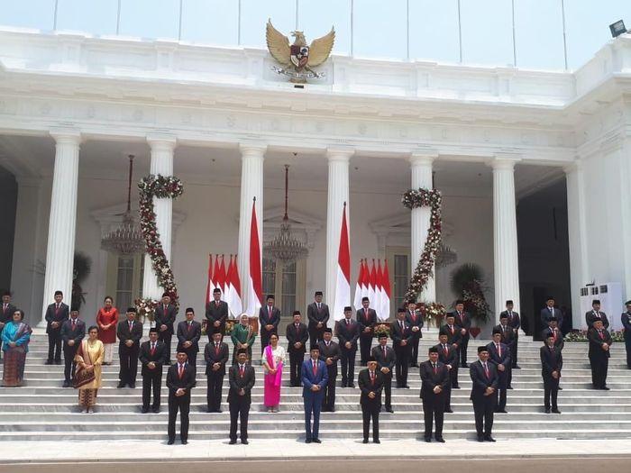 Penasaran dengan Gaji Menteri dan Tunjangannya? Ini Rinciannya Foto: (Andhika Prasetia/detikcom).